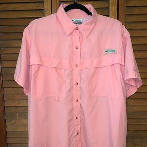 Women's Pink Columbia PFG